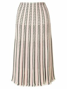 Molli Lisa knit midi skirt - PINK