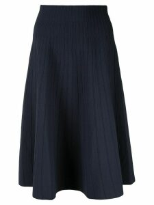 Casasola high waisted ribbed skirt - Blue