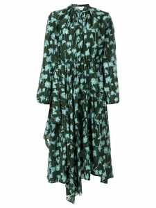 Christian Wijnants floral print midi dress - Green