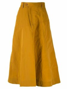 Christian Wijnants Saiba midi skirt - Brown