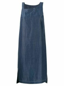 Reality Studio faux denim mini dress - Blue