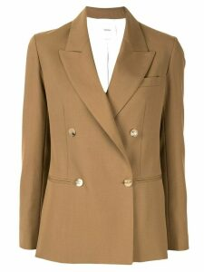 Casasola double breasted fitted blazer - Brown