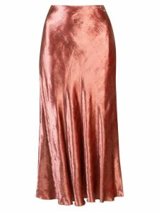 Brock Collection flared slip skirt - Pink