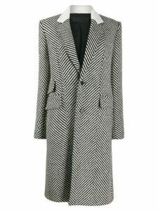 Haider Ackermann Chapman woven-print coat - Black
