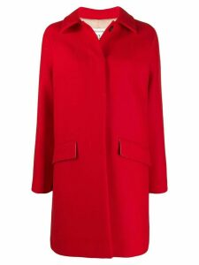 Semicouture single breasted coat - Red