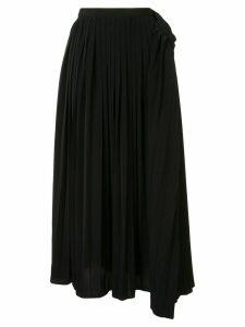 Maison Mihara Yasuhiro pleated skirt - Black