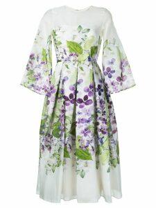 Bambah Iris Tea dress - White