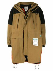 Maison Mihara Yasuhiro duffle coat - Yellow