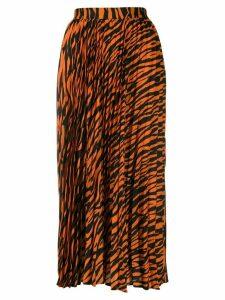 Andamane Becky pleated skirt - Orange