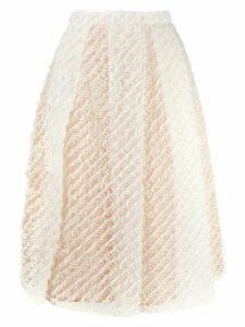 Nº21 A-line fluffy skirt - Pink