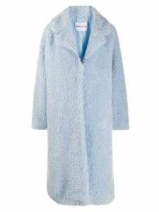 STAND STUDIO Clara faux fur coat - Blue