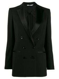 Tonello tuxed double breasted blazer - Black