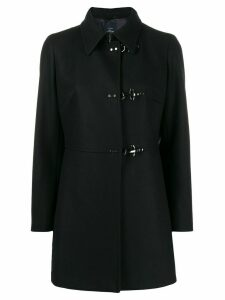 Fay single breasted coat - Black