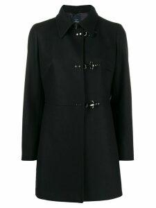 Fay single breasted coat - Black