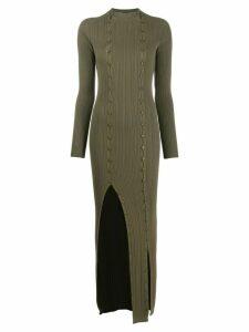 Jacquemus La Robe Maille Azur dress - Green