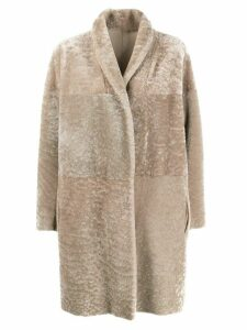 Salvatore Santoro oversized coat - Neutrals