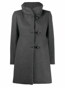 Fay single breasted coat - Grey