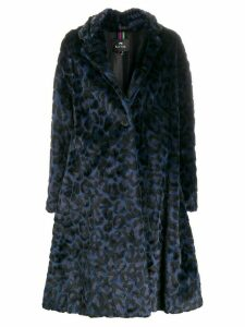 PS Paul Smith leopard-print coat - Blue