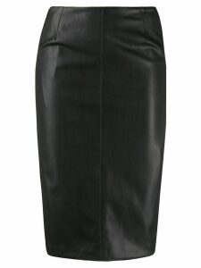 LIU JO fitted panelled pencil skirt - Black