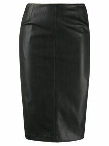 LIU JO fitted panelled pencil skirt - Black
