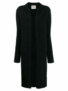Semicouture open-front cardi-coat - Black