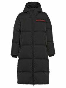 Prada technical puffer coat - Black