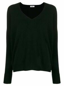 LIU JO v-neck knit sweater - Black
