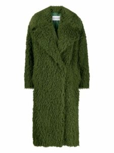 STAND STUDIO double-breasted coat - Green