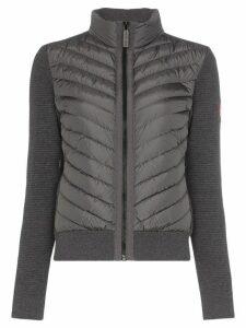 Canada Goose Hybridge panelled padded jacket - Grey