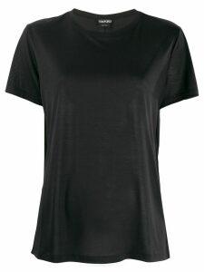 Tom Ford logo detail T-shirt - Black