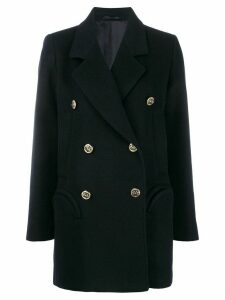 Blazé Milano double breasted coat - Blue
