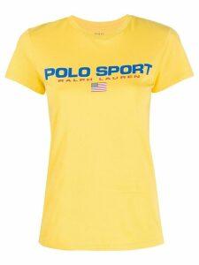 Polo Ralph Lauren logo print T-shirt - Yellow