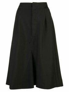 Maison Margiela high-waisted A-line skirt - Black