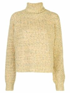 Baum Und Pferdgarten roll-neck long sleeve jumper - Yellow