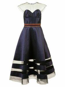 Sachin & Babi Joanna flared dress - Blue