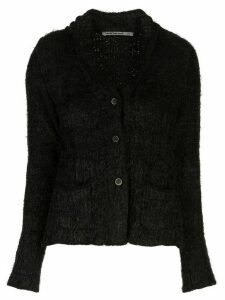Transit single-breasted fitted blazer - Black