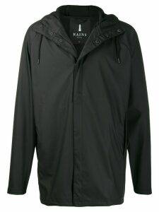 Rains hooded short coat - Black