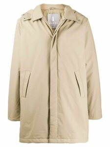 Rains Mac hooded coat - Neutrals