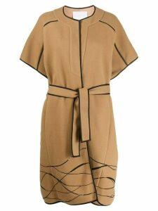 Noon By Noor Carlin sequin-embellished coat - Neutrals