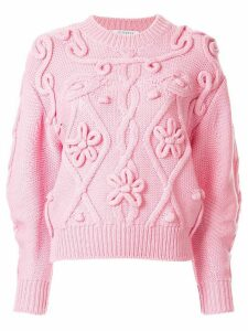 Vivetta cable knit jumper - Pink
