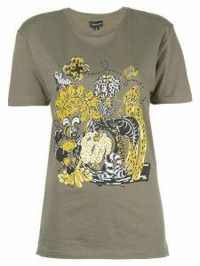 Callipygian tini caterpillar T-shirt - Green