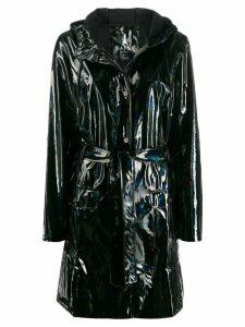 Rains holographic rain coat - Black