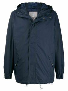 Rains hooded raincoat - Blue