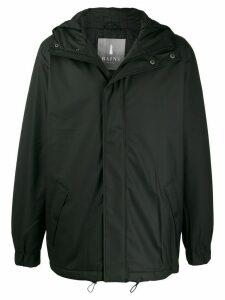Rains quilted parka coat - Black