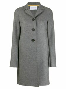 Harrys of London single-breasted regular-fit coat - Grey