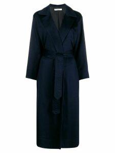 Katharine Hamnett London belted robe coat - Blue