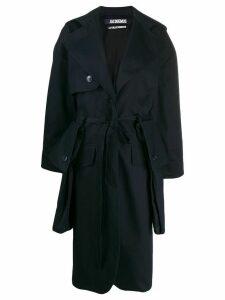 Jacquemus Le Manteau Bagli coat - Blue