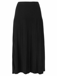 Michael Michael Kors pleated knit skirt - Black