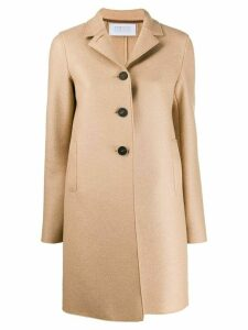 Harrys of London single-breasted regular-fit coat - Brown