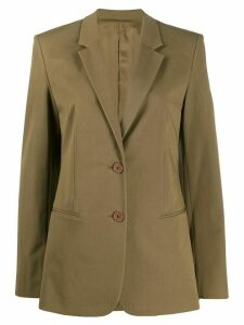 Helmut Lang tailored blazer - Green